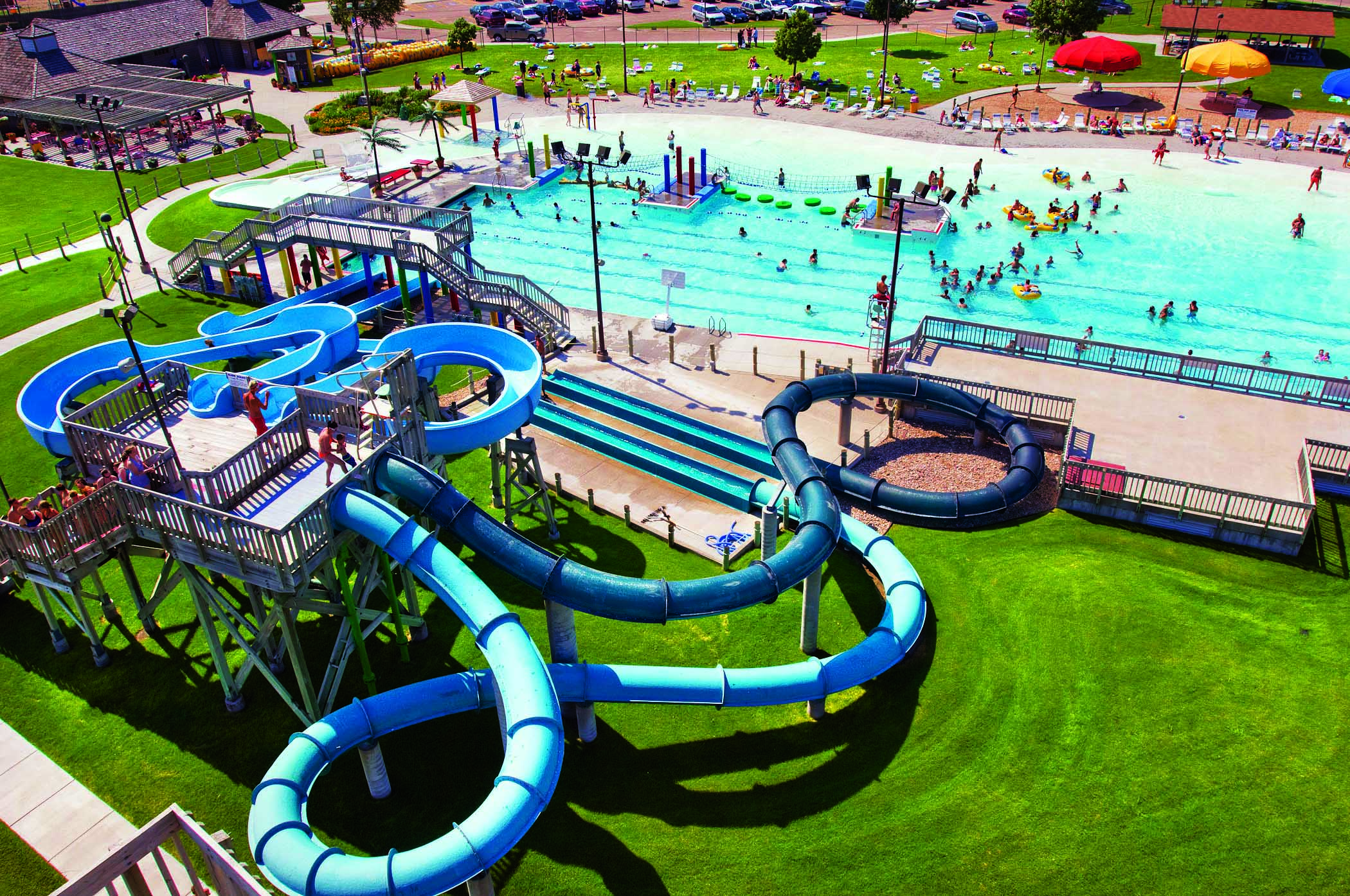 Island Oasis Waterpark in Grand Island, Nebraska