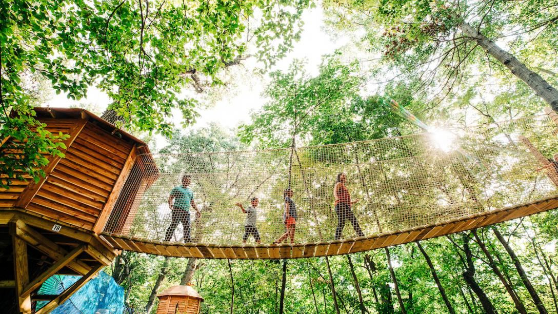 Tree Adventure at Arbor Day Farm