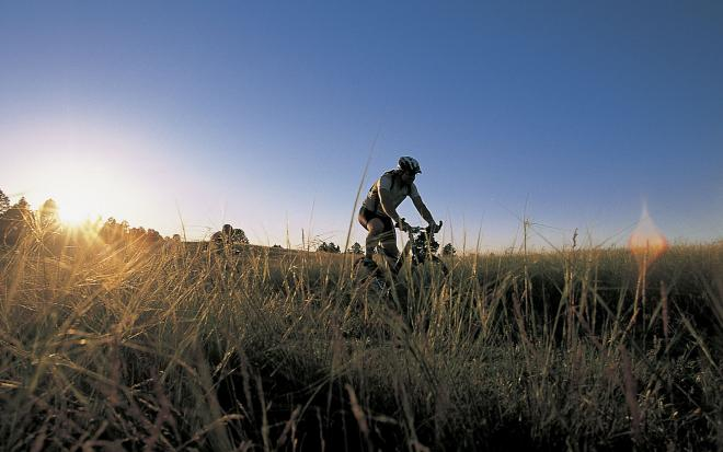 Cycling in Nebraska's Chadron State Park