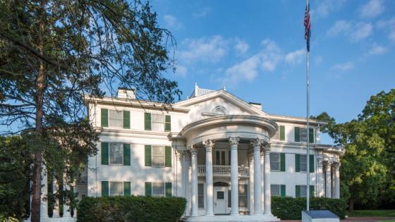 Vintage Flag Collection at Arbor Lodge Mansion