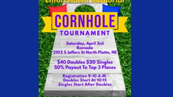Law Enforcement Memorial Fundraiser Cornhole Tournament