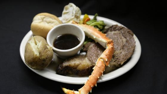 Prime Rib & Crab Legs every Friday Night
