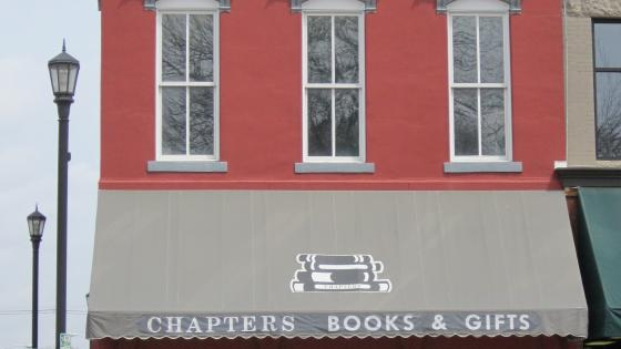 Chapters' storefront