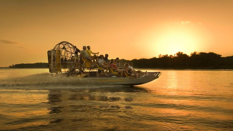 Bryson Airboat Tours