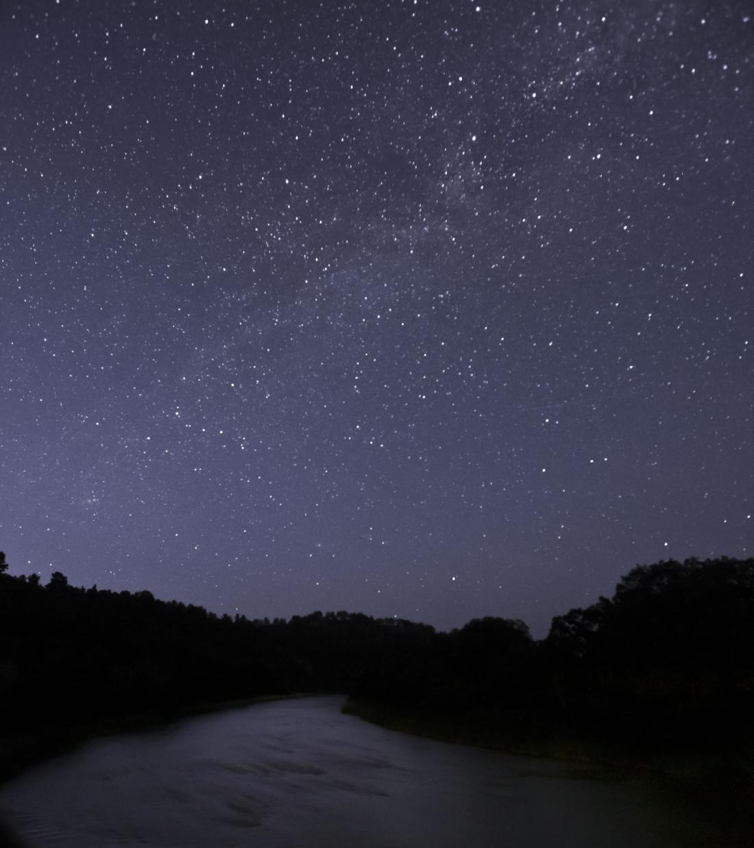 Stars Over Niobrara River
