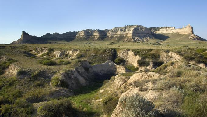 Scotts Bluff Monument